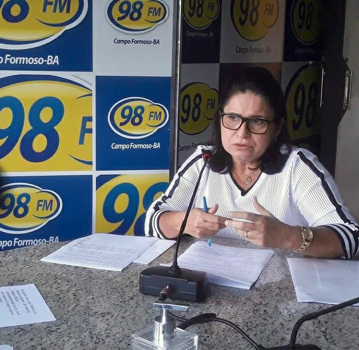 Ex-prefeita de Campo Formoso Rose Menezes é diagnosticada com câncer de mama